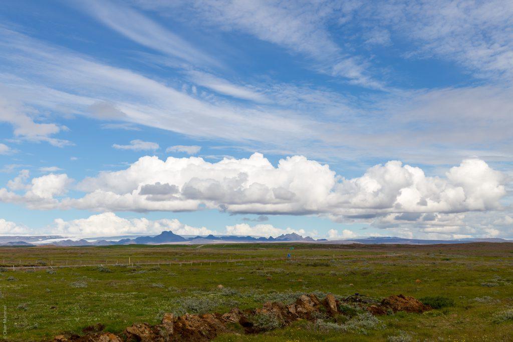 am Gullfoss ● Blick Richtung Langjökull ● ©2016