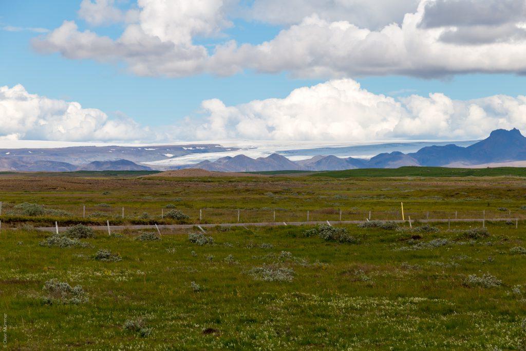 am Gullfoss ● Blick Richtung Langjökull und Jarlhettur ● ©2016