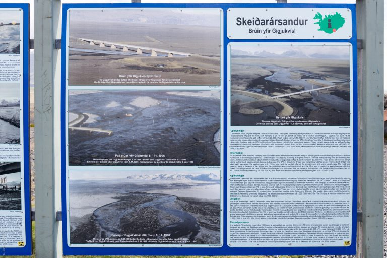 Skeiðará Bridge Monument