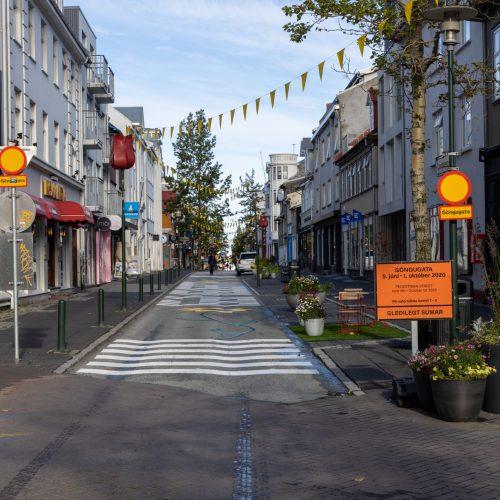 Reykjavík ● Straßenszenen ● Laugavegur ● ©2020