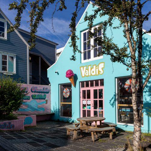 Reykjavík ● Straßenszenen ● Eisladen in der Frakkastígur ● ©2020
