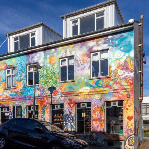 Reykjavík ● Straßenszenen ● Bäckerei Brauð & Co. in der Frakkastígur ● ©2020