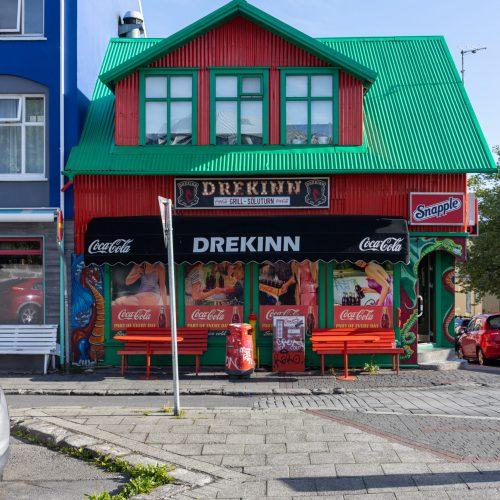 Reykjavík ● Straßenszenen ● Njálsgata / Frakkastígur ● ©2020