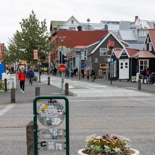 Reykjavík ● Bankastræti ● ©2020