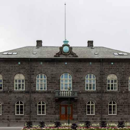 Reykjavík ● Alþingishúsið (Parlament) ● ©2020
