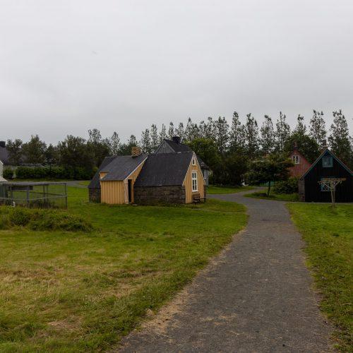 Reykjavík ● Árbæjarsafn ● Hábær (in der Mitte) ● ©2021